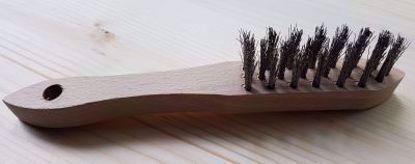 Bild von Drahtbürste Stahl